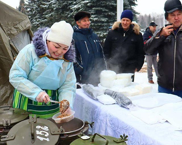 «Полевая кухня к 31-ой годовщине вывода Советских войск из Афганистана»